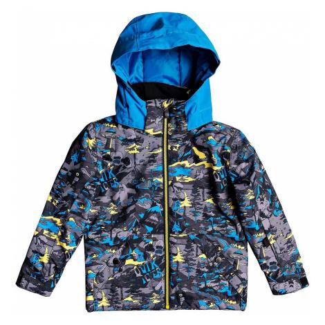 jacket Quiksilver Little Mission - GJC1/Sulphur Pop Yeti Forest - kid´s