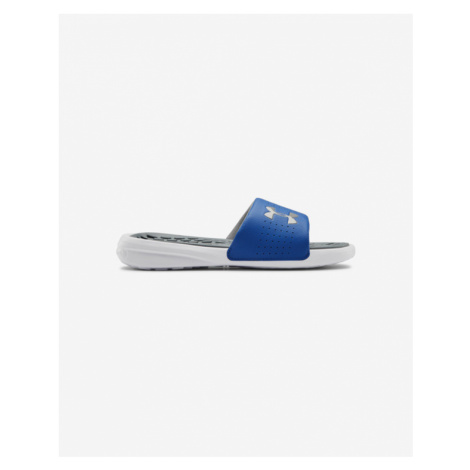 Under Armour Playmaker Kids slippers Blue White