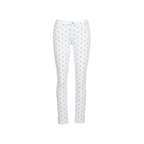 Moony Mood CECO women's Trousers in White