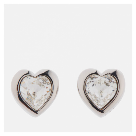 Ted Baker Women's Han Swarovski Crystal Heart Earrings - Silver/Crystal