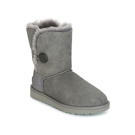 UGG BAILEY BUTTON II women's Mid Boots in Grey