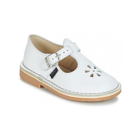 Aster DINGO girls's Children's Shoes (Pumps / Ballerinas) in White