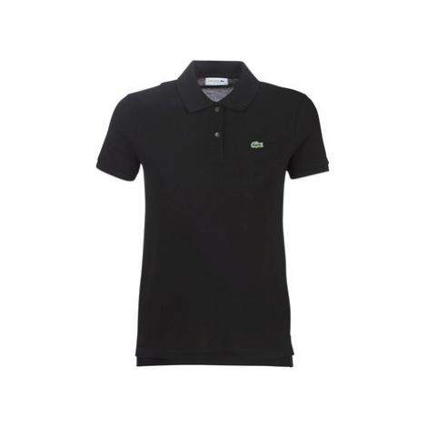 Lacoste PF7839 women's Polo shirt in Black