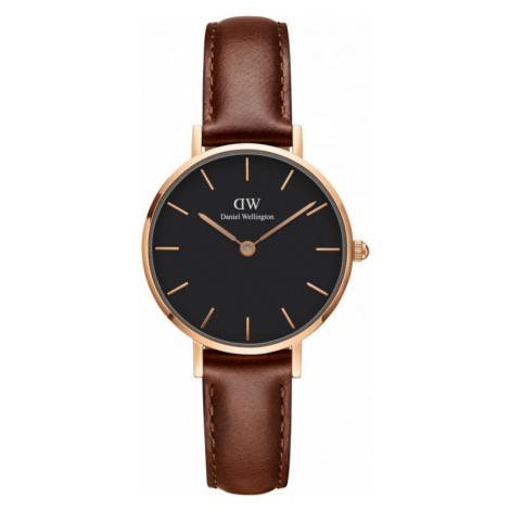 Ladies Daniel Wellington Classic Petite 28 St Mawes Black Watch DW00100225