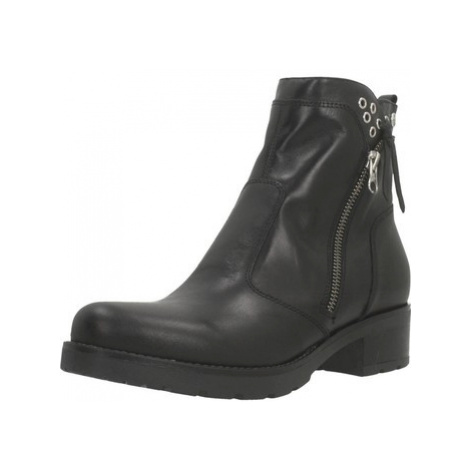 Nero Giardini A909650D women's Low Ankle Boots in Black