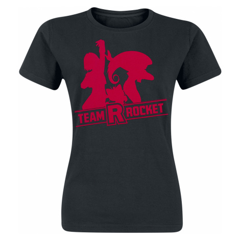 Pokémon - Team Rocket - Girls shirt - black
