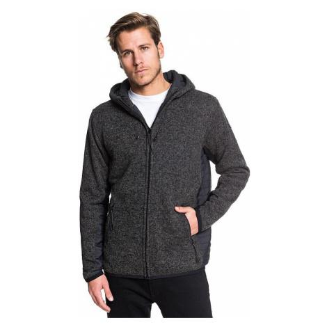sweatshirt Quiksilver Keller Puff Zip - KRPH/Dark Gray Heather - men´s