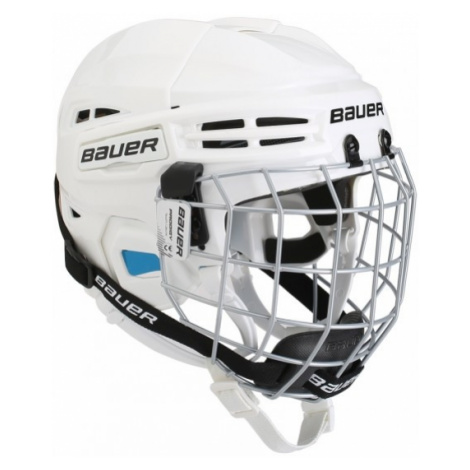 Bauer PRODIGY COMBO YTH white - Kids' helmet with a facemask