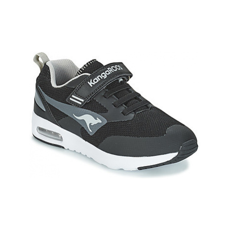 Kangaroos KANGA X PRO 1000 EV girls's Children's Shoes (Trainers) in Black
