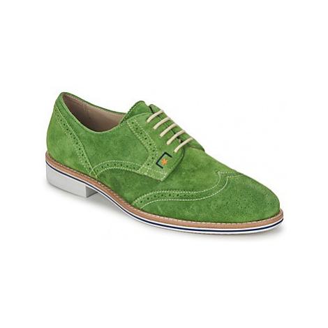 C.Petula PAULO men's Casual Shoes in Green