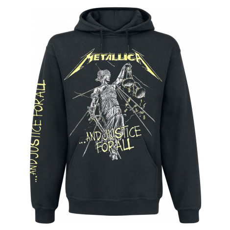 Metallica - ...And Justice For All - Hooded sweatshirt - black