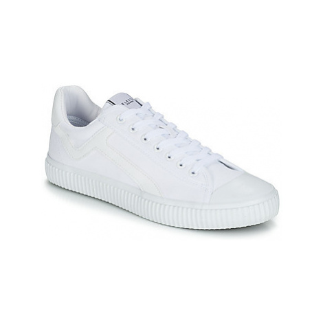 Selected ERIC CANVAS TRAINER men's Shoes (Trainers) in White
