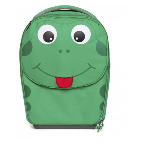 suitcase Affenzahn Finn Frog - Green/Black/Red - kid´s