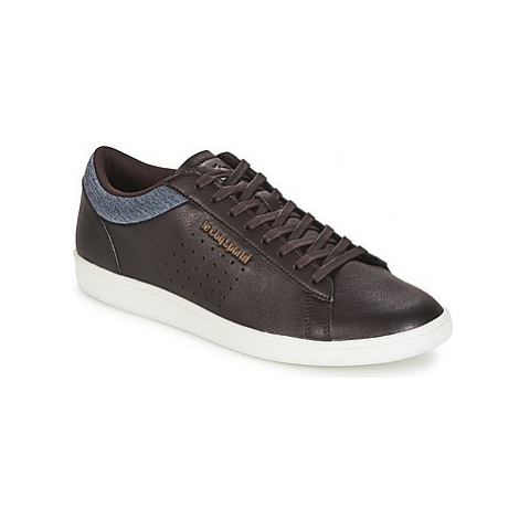 Le Coq Sportif COURTSET CRAFT men's Shoes (Trainers) in Brown