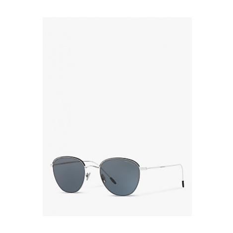 Giorgio Armani AR6048 Men's Oval Sunglasses