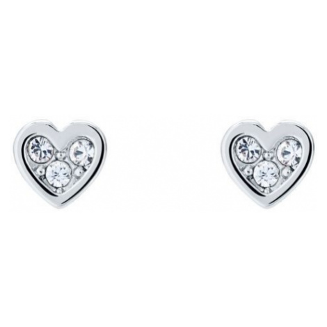 Neena Nano Heart Stud Earrings