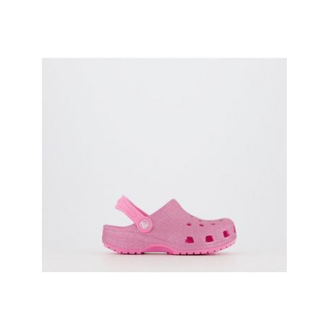 Crocs Kids GLITTER PINK LEMONADE