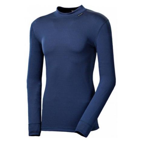 Progress LS blue - Men's functional T-shirt