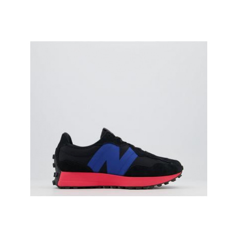 New Balance 327 Trainers BLACK ENERGY RED