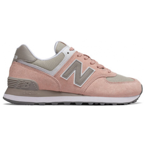 New Balance 574 Shoes - Oyster/White Oak