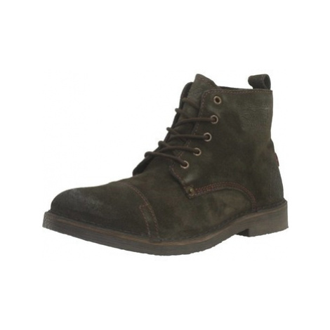 Levis TRACK men's Mid Boots in Brown Levi´s