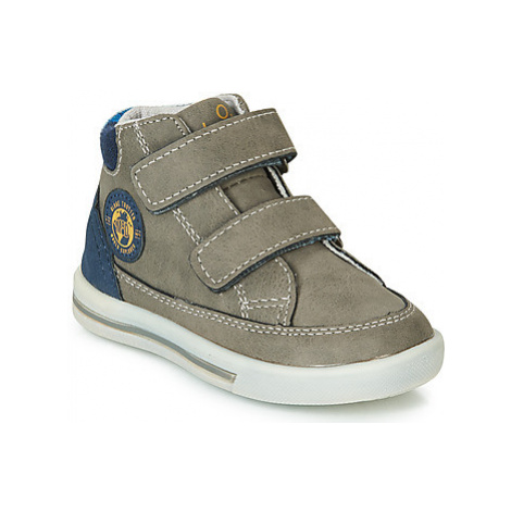 Mod'8 SOURACRO boys's Children's Shoes (High-top Trainers) in Kaki