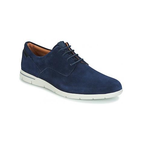 Clarks VENNOR WALK men's Casual Shoes in Blue