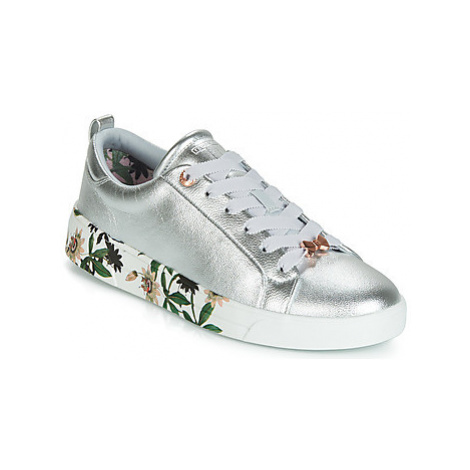 Ted Baker ROULLY women's Shoes (Trainers) in Silver