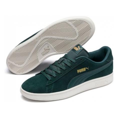 Puma SMASH V2 green - Men's leisure shoes