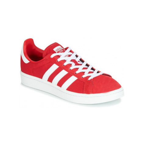 Adidas CAMPUS W women's Shoes (Trainers) in Red