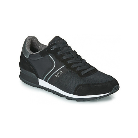 BOSS PARKOUR RUNN NYMX2 men's Shoes (Trainers) in Black Hugo Boss