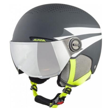 Alpina Sports ZUPO VISOR - Kids' ski helmet