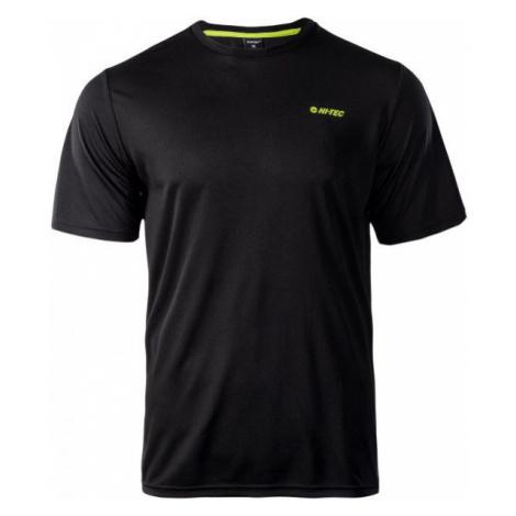 Hi-Tec MEMMO II black - Men's functional T-shirt