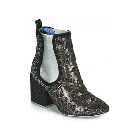 Irregular Choice KINGS ROAD women's Low Ankle Boots in Black