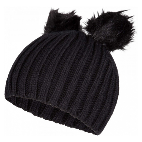 Lewro LILIEN black - Girls' knitted hat