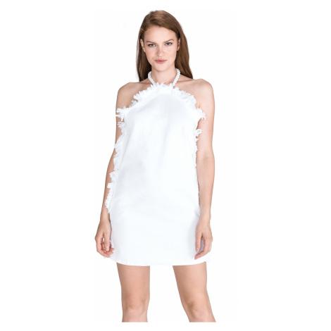 Pinko Gardenia Dress White