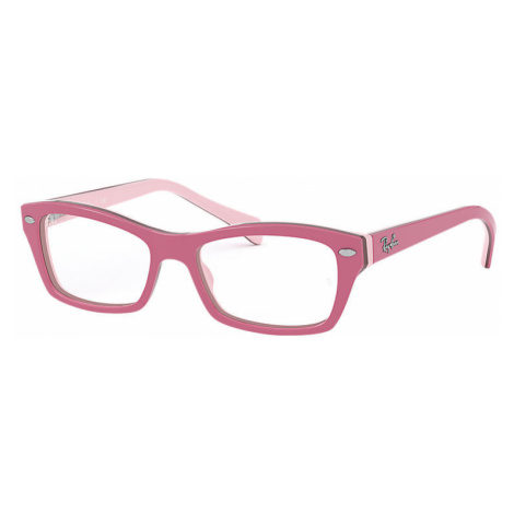Ray-Ban Rb1550 Unisex Optical Lenses: Multicolor, Frame: Pink - RB1550 3656 46-15