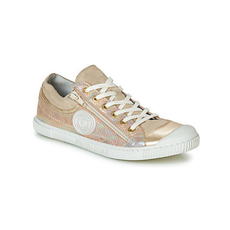 Pataugas BISK women's Shoes (Trainers) in Gold