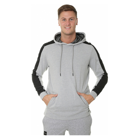 sweatshirt Under Armour Microthread Terry - 035/Steel Light Heather/Black - men´s