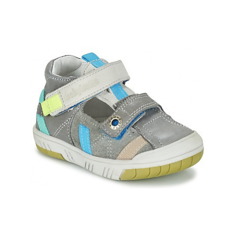 Babybotte STEPPE boys's Children's Shoes (High-top Trainers) in Grey