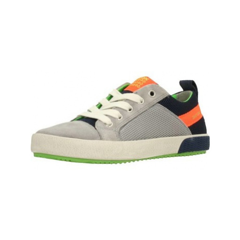 Geox J ALONISSO BOY boys's Children's Shoes (Trainers) in Grey