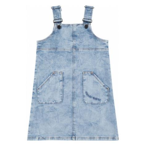 O'Neill LG LILLY DUNGAREE DRESS blue - Girl's denim dress