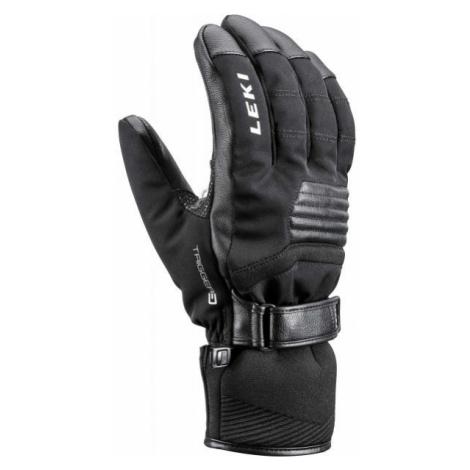 Leki STORMLITE 3D black - Downhill ski gloves
