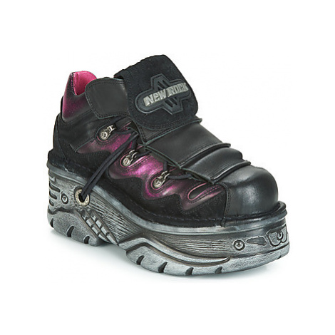 New Rock M.1075-S6 women's Casual Shoes in Black