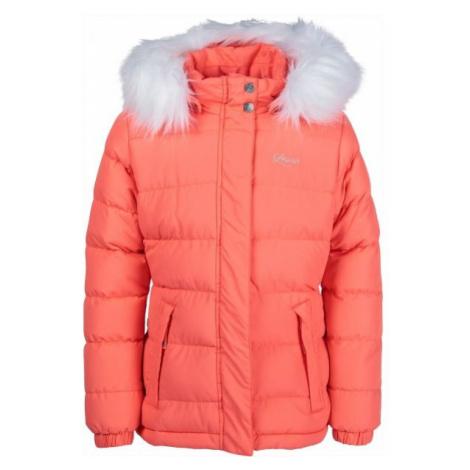 Lewro NAILA orange - Girls' quilted jacket