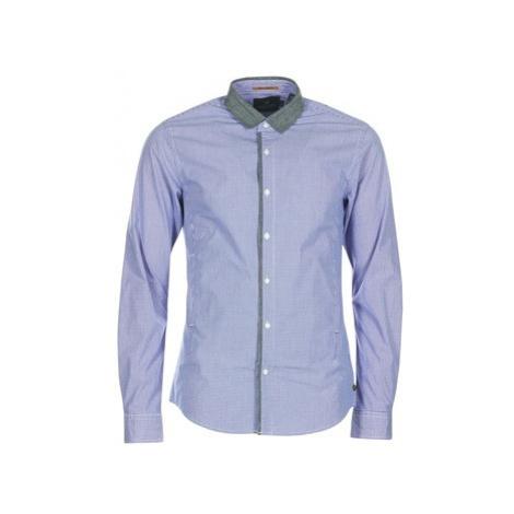 Scotch Soda JILLA men's Long sleeved Shirt in Blue Scotch & Soda