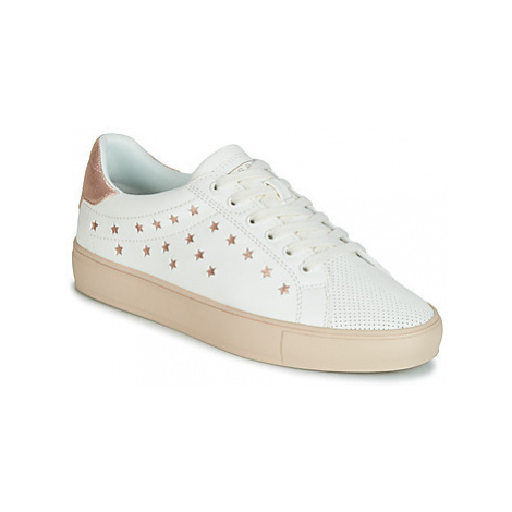 Esprit Colette Star LU women's Shoes (Trainers) in White