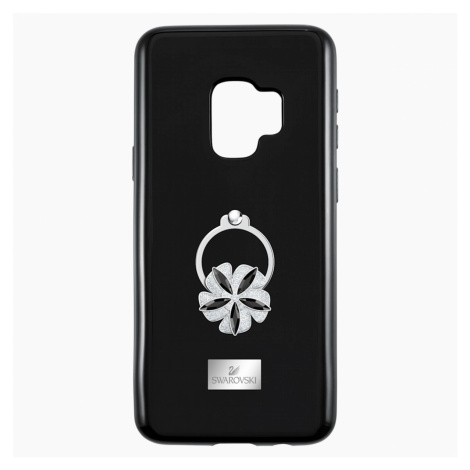 Mazy ring Smartphone Case with integrated Bumper, Galaxy S®9, Black Swarovski