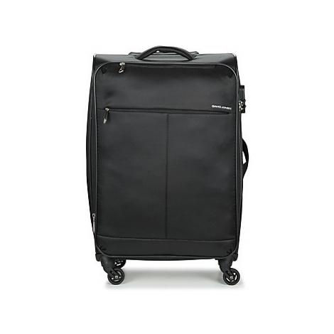 David Jones ODORO 53L men's Soft Suitcase in Black