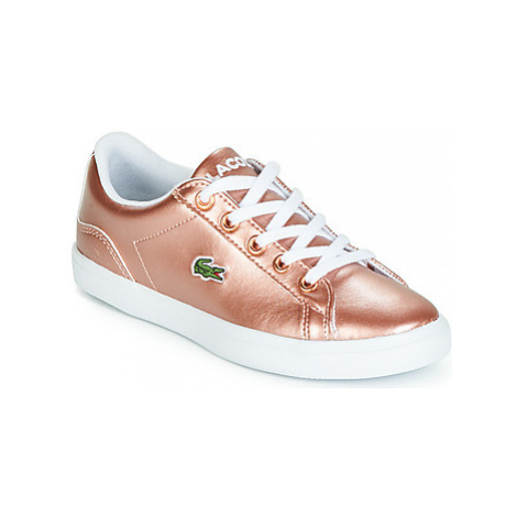 Lacoste LEROND 119 4 girls's Children's Shoes (Trainers) in Pink